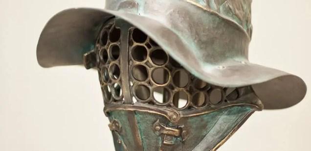 Exhibition Showcases Gladiator Helmets from Hollywood Films in Bulgaria's Black Sea Resort Tsarevo