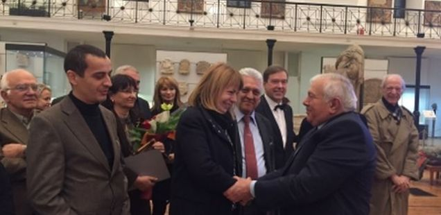 Sofia Awards Bulgarian Archaeologist Vasil Nikolov for Discoveries in Slatina Neolithic Settlement