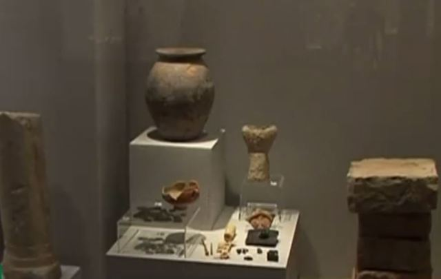 Byzantine Amphora with Inscription Dedicated to Christ, Virgin Mary Found in Roman Fortress Trimammium in Northeast Bulgaria - Archaeology in Bulgaria