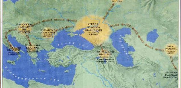 Bulgarian Toponyms in Italy: Legacy from the Ancient Bulgars and Their Leaders, Khan Altsek and Khan Kubrat*
