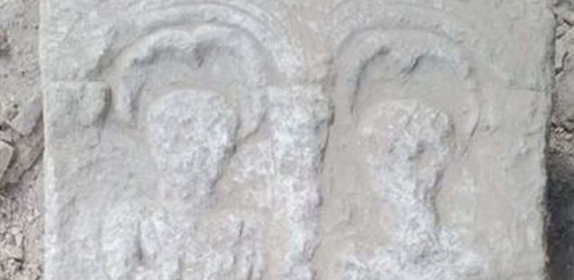 Richly Decorated Roman Grave Stele That Was Never Used Found in Kovachevsko Kale Fortress in Northeast Bulgaria