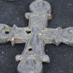 Early Christian Bishop's Residence, Reliquary Cross with Crucified Jesus Christ Found in Bulgaria's Rock City Perperikon