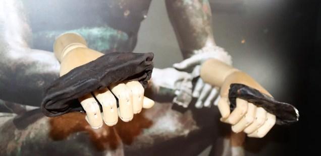 Rare Ancient Roman Boxing Gloves Discovered at Vindolanda Fort near Hadrian's Wall