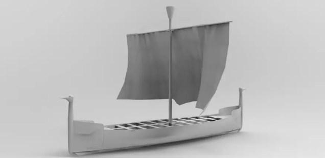 Bird Headed Ancient Thracian Warship to Be Built near Submerged City of Seuthopolis in Bulgaria's Kazanlak