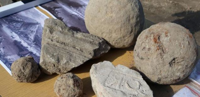 Culverin Cannonballs from Vlad Dracula's 1461 Victory over Ottoman Turks Found in Danube Fortress Zishtova in Bulgaria's Svishtov