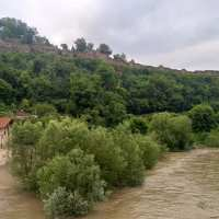 Top Church of Second Bulgarian Empire nearly Flooded by Yantra River in Bulgaria's Veliko Tarnovo
