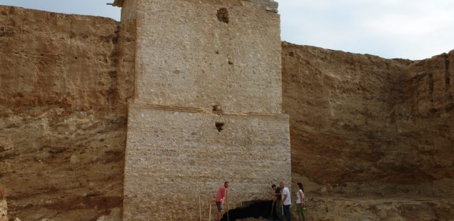 Sealed 16th Century Ottoman Looting Tunnel for Draft Animals Found inside Tower Tomb beneath Bulgaria's Largest Thracian Burial Mound