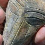 Mouthless Prehistoric 'Alien' Mask Mixing Human, Animal Features Found in Salt Pit Settlement Mound in Bulgaria's Provadiya