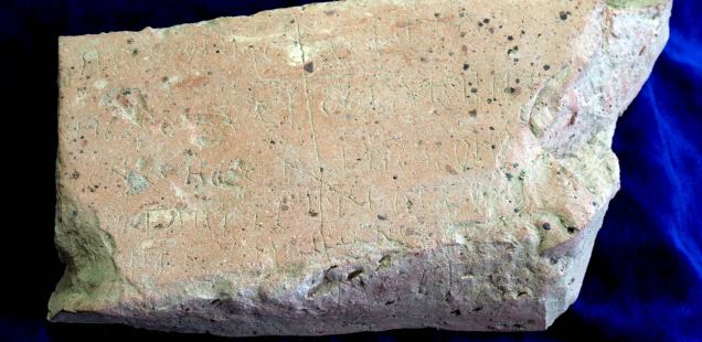 'Pillow' Brick with Gospel of John Inscription in 13th Century Clergyman Grave, Byzantine Gold Threads Found in Medieval Bulgarian Capital Tarnovgrad