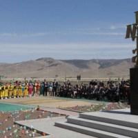 Bulgaria Unveils Monument of Cyrillic (Bulgarian) Alphabet in Mongolia's Capital Ulan Bator