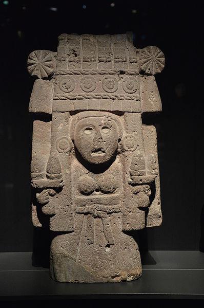 Arte Factual Aztec Maize Goddess Tomb Raider 1 The
