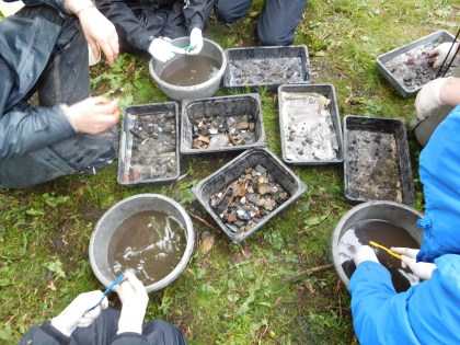 KGS pupils finds washing