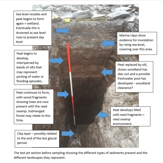 Test Pit annotated