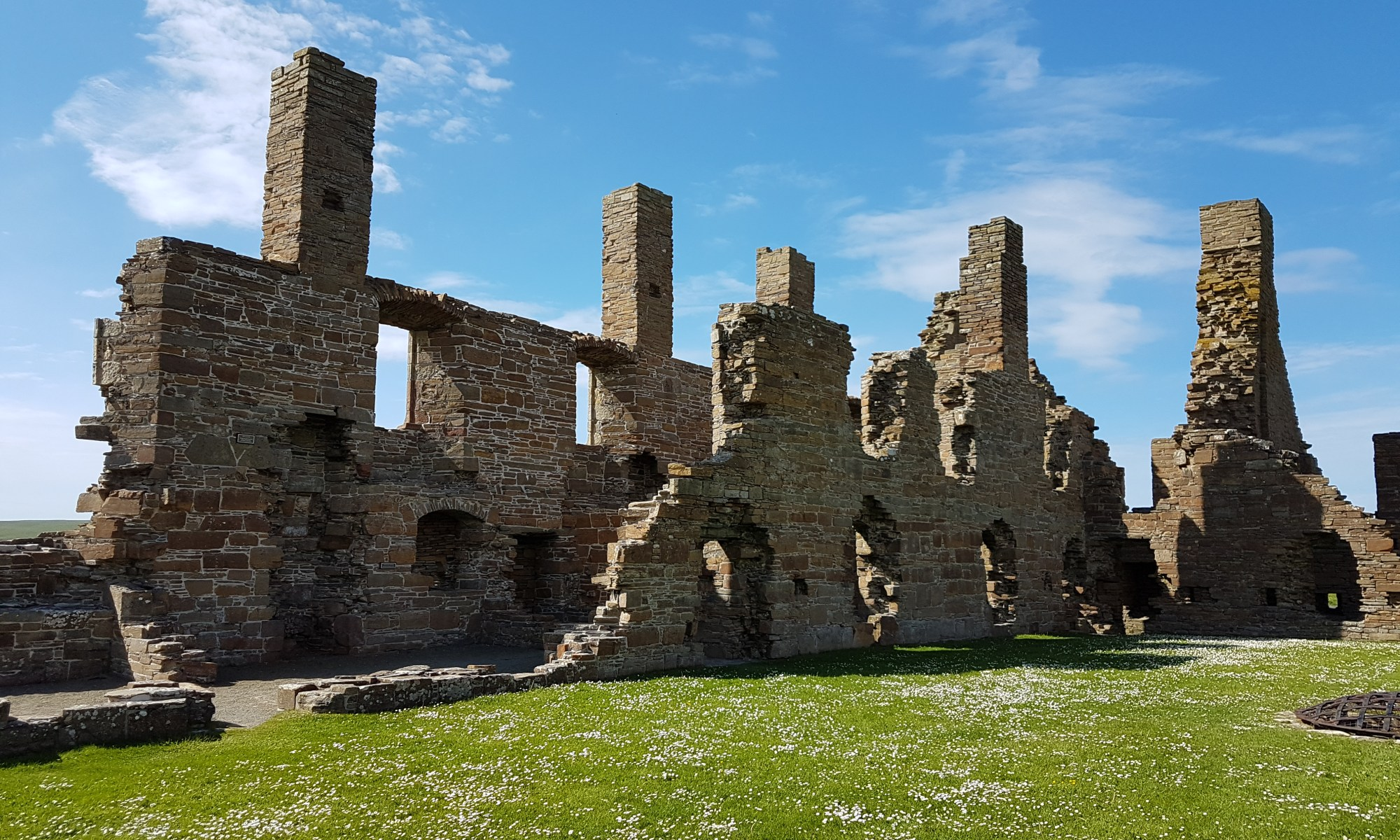 The Earl's Palace. Birsay, Orkney.