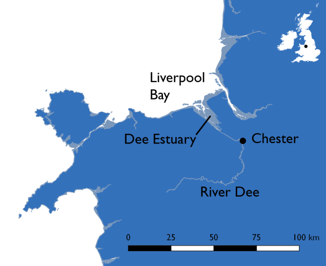 Location of Chester England