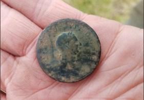 George III 1806 halfpenny