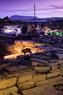 Orkney Summer Shoot, Ness of Brodgar archaeology dig and landsca
