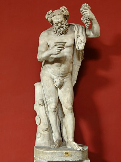 Fig. 3. – Statue of Silenus, Rome