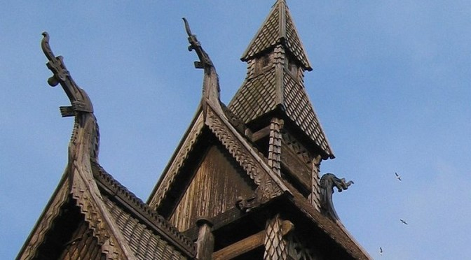 Hopperstad Stavekirke: Under the Surveillance of Wooden Dragons