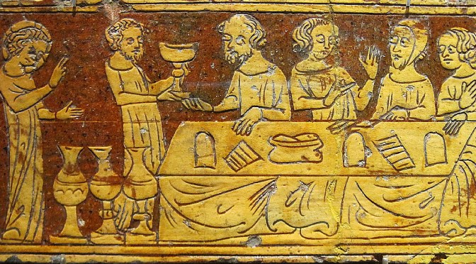 Images of the 'Infancy Gospels' in Sgraffito