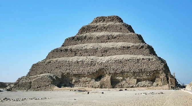 Stepped Pyramids in Architecture of Ancient Civilizations