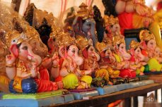 ganesha lined up 2