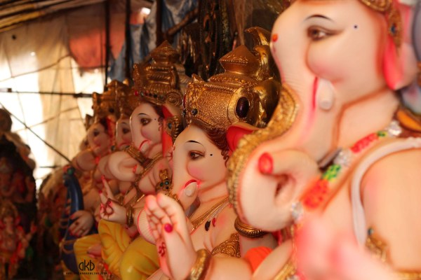 long line of ganesha
