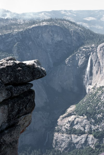 Hanging Rock and Yosemite Falls