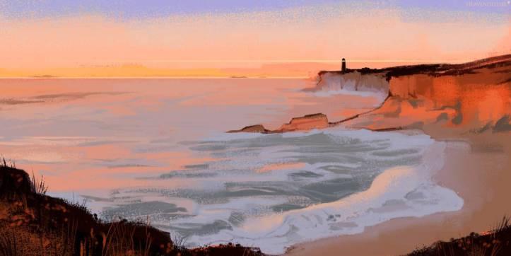 scatterstar___coastal_sunset_by_heavendeluxe_de2izbr-pre