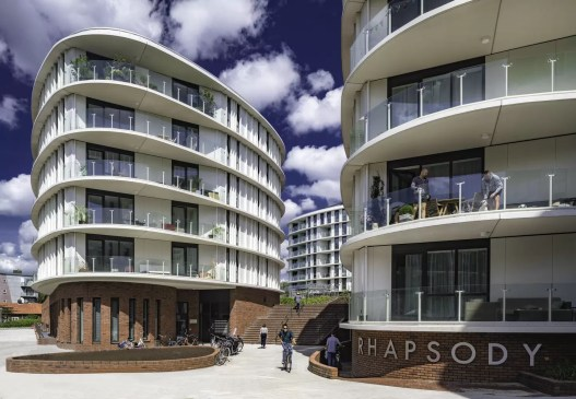 Rhapsody in West Residential Development / TANGRAM architecture and urban landscape
