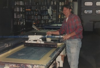 Screen Printing Late 80s