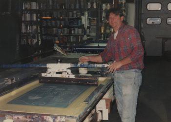 Screen Printing Late 80s