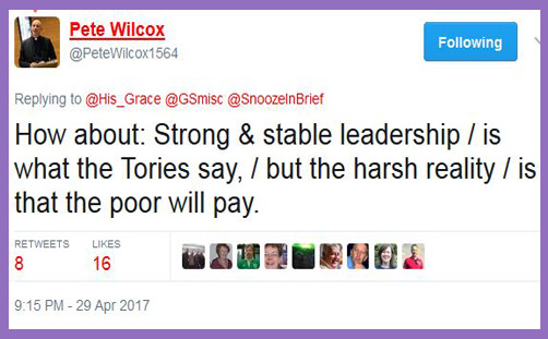 "Bishop(-elect) of Sheffield: ""Don't vote Tory, or the poor will pay"""