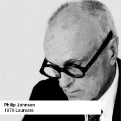 Philip Johnson 1979 Laureate