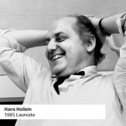Hans Hollein 1985 Laureate
