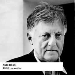 Aldo Rossi 1990 Laureate