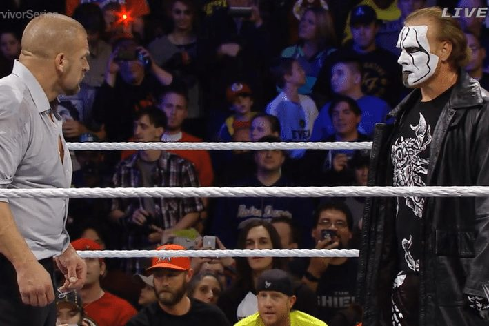 wrestling icon sting makes wwe debut at survivor series archcity