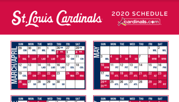 St Louis Cardinals Schedule 2020.Cardinals Announce 2020 Exhibition Game Against Texas