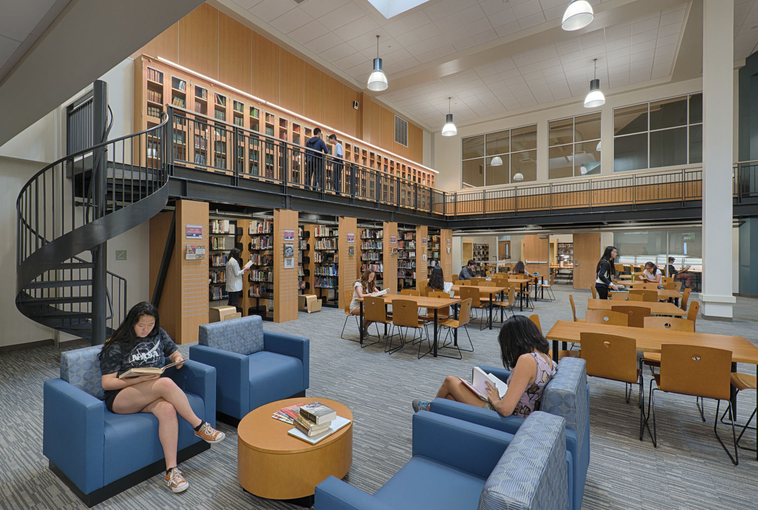 Palo Alto High School Library