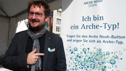 """Gordon Strahl, Mülheim """"Ich bin ein Arche-Typ, weil Vielfalt besser ist als Einfalt."""" Foto: Sonja Strahl"""