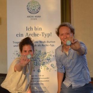 """Hanna Unterberg & Roland Wulftange, Kommunikationsdesigner: """"Wir sind Arche-Typen, weil nur aus Vielfalt ein farbenfrohes Bild entsteht."""""""
