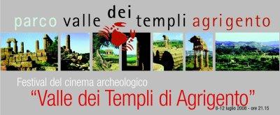 Locandina Agrigento Festival del Cinema Archeologico Valle dei Templi