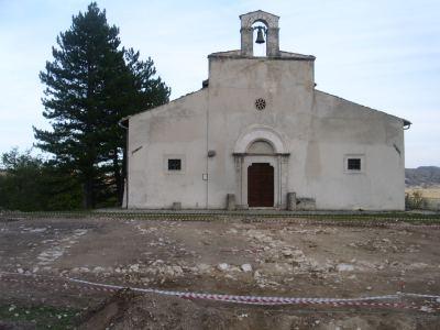 Santa Lucia - Rocca di Cambio - Gli scavi