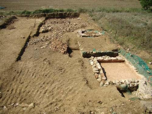 bibbiena - foto generale area di scavo