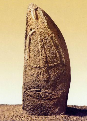 statua-menhir Laconi 1
