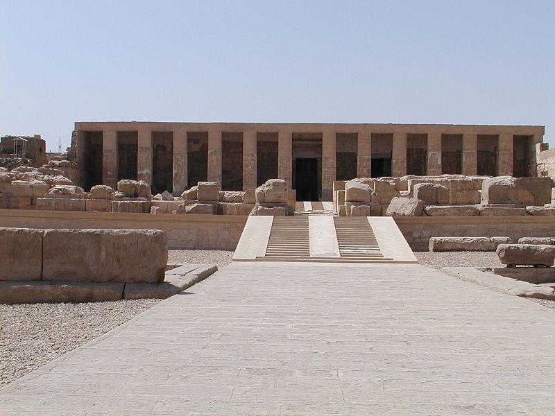 Abydos, nécropole des premiers pharaons et cité sacrée d'Osiris