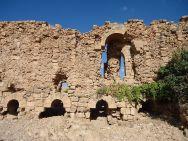 Murailles édifiées sous Justinien. Les arches permettaient l'écoulement de l'eau. Credits : Procopius, CC by SA.