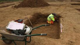 fouilles Marquise nécropole gallo-romaine