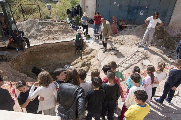Tombe mycénienne découverte sur l'île de Salamine en Grèce