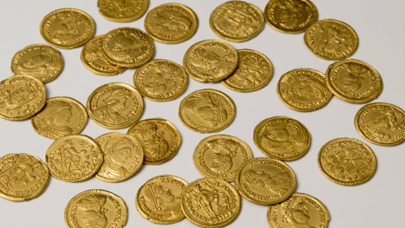 Un trésor de 41 pièces d'or nous éclaire sur la fin de l'empire romain aux Pays-Bas